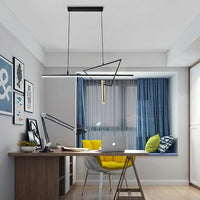 Cylinder Dropdown LED Linear Pendant