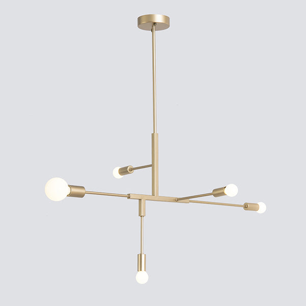 Cliff Brass chandelier 5Lights