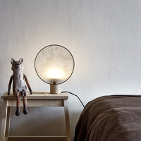 Screen Table Lamp