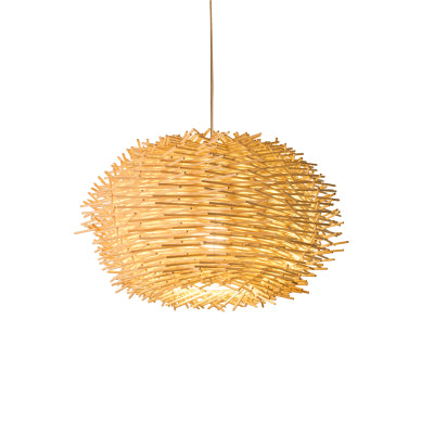 Bamboo Nest 1-Light Chandelier