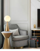 Bilia Glass Bolle Table Lamp