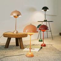 Flowerpot Metal Table Lamp