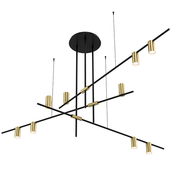 Tribes LED Spot Chandelier Light