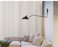 Serge Mouille Modern Wall Sconce