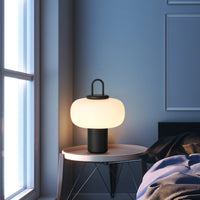 Nox Small Glass Table Lamp