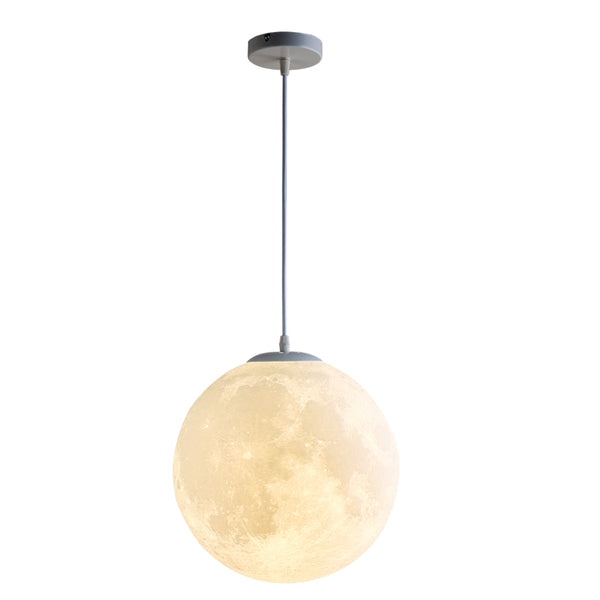 3D Printing Moon Pendant Light