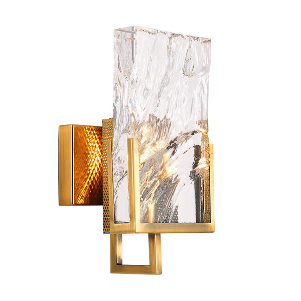 Ice Crystal Wall Sconce