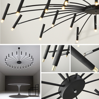 Modern LED Umbrella chandelier
