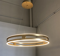Over-Lapped Circle Updown Light LED Pendant