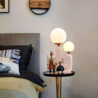 Hand-Built Oo Table Lamp