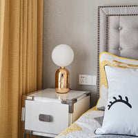 Parachilna Aballs LED Table Lamp for bedroom
