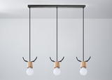 Nordic Design Antler Pendant Light