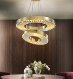Canopus circle chandelier