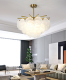 Serenity Glass Chandelier