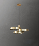 Triarc Brass Chandelier