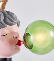 Bubble Girl Decorative Table Lamp