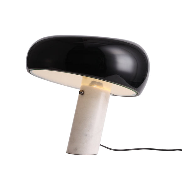 Snoopy Table Lamp Black in Dedroom