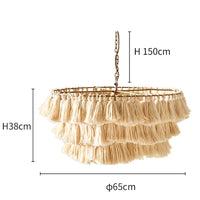 Creative Fela Tassel Chandelier for Living Room,Kitchen Island