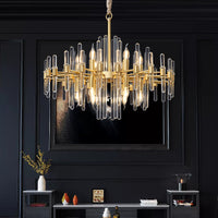 antique brass dining room chandelier
