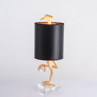 antique look table lamp