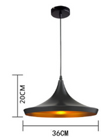 beat wide pendant light