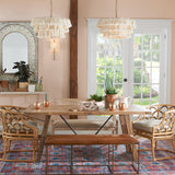 chandelier kitchen island