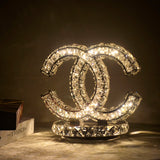 Chanel COCO Crytal Table Lamp