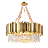 crystal chandelier round