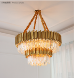 empire chandelier bronze