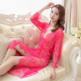 lace nightdress long