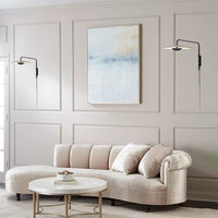 led wall sconce swing  arm