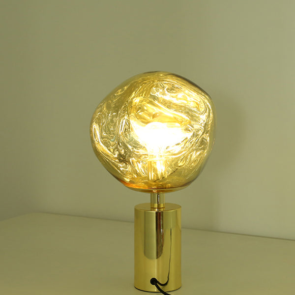 melt table lamp gold