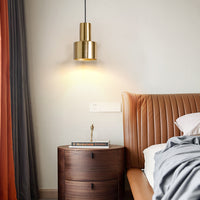 mini cylinder pendant light