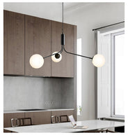 modern chandelier for kitchen