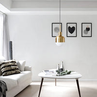 pendant lighting gold