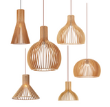pendant lights with wood