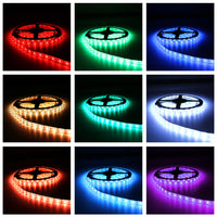 USB LED Strip Lights DC5V Flexible Light Desktop Decor Screen TV Background Lighting