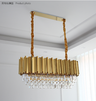 rectangular chandelier modern