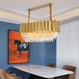 rectangular dining chandelier