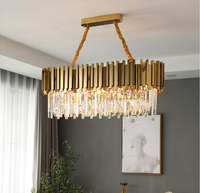 rectangular island chandelier