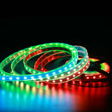 rgb led strip addressable pixel