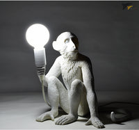 vintage monkey table lamps