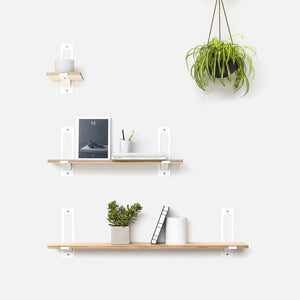 "Gami Paperclip | 40"" Shelf"