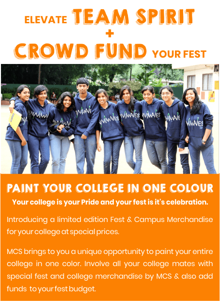 Elevate Team spirit and Crowd Fund Your Fest