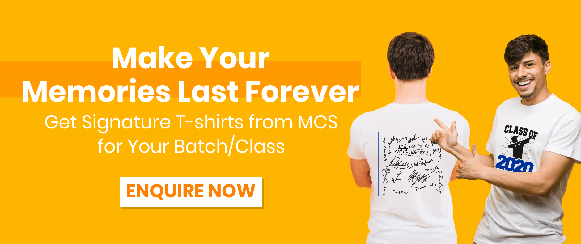 Mycampusstore Signature Day T-Shirts