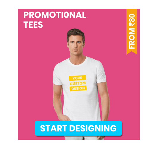 Promotional or event tees for Customization
