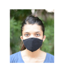 FACE PROTECTOR WITH LONG LOOP - BLACK COLOUR (Pack of 3)