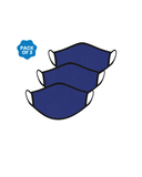 FACE PROTECTOR WITH EAR LOOP - ROYAL BLUE COLOUR (Pack of 3)