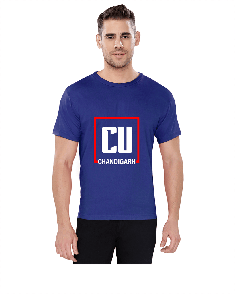 Chandigarh University Round Neck T-Shirt