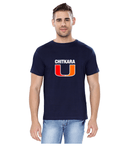 Chitkara University Round Neck T-Shirts for Men - Big U Design